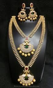 indian bridal necklace sets images Wedding necklace sets for indian brides jewellery pinterest jpg