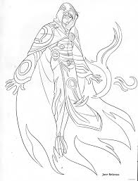 magic the gathering coloring book pages i love these designs so