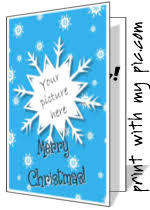 free christmas photo card templates online make a christmas card