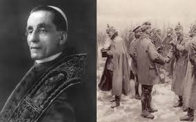 the untold story of the pope behind the famous christmas truce of