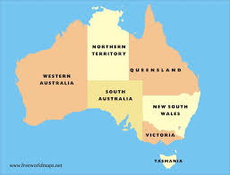 map of australia political free pdf maps of australia