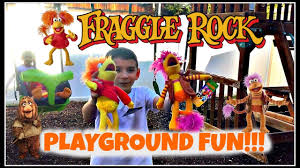 spirit halloween ramsey nj playground fun with fraggle rock gobo and red are out of the cave