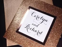 glitter wedding invitations gold glitter wedding invitation luxury wedding invitation