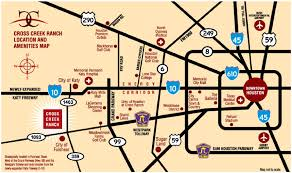 Map Of Dallas Tx Area by Cross Creek Ranch Fulshear Commercial Real Estate Johnson