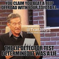 jeep girls sayings you claim you beat a jeep offroad with your toyota fj the lie