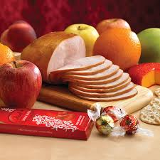 Thanksgiving Gift Baskets Delivered Turkey And Ham Coffee Cake Hostess Thanksgiving Gift