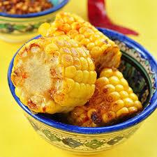 cuisiner des epis de mais épis de maïs grillés au chili metro