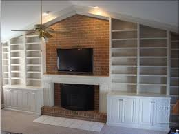 Built In Bookcases With Tv Built Ins U0026 Bookcases Continued Mitre Contracting Inc