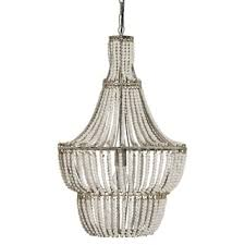 How To Make A Beaded Chandelier Sonoma Natural Beaded Black 8 Light Chandelier Free Shipping
