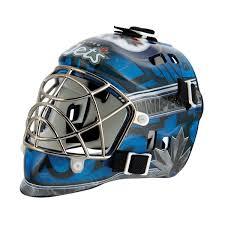 hockey mask halloween walmart franklin sports nhl team series winnipeg jets mini goalie mask