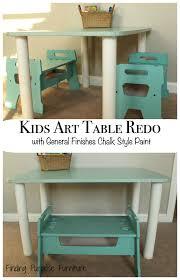 a fresh start kids art table redo finding purpose blog