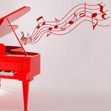 la chambre mandarine merveilleux la chambre mandarine 17 stickers notes de musique