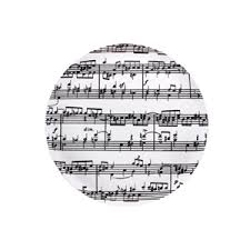 Musical Note Decorations Music Gifts Notes Music Notes Cake Plate Music Theme Party