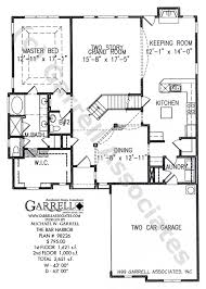 bar floor plans bar harbor house plan house plans by garrell associates inc