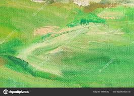 green color oil paint on linen abstract art background coarse