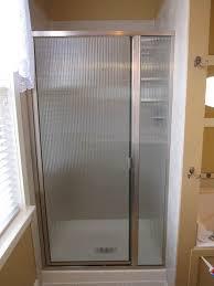 replace glass shower door home interior design