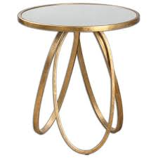 Brass Accent Table Montrez Gold Accent Table From Uttermost 24410 261 80
