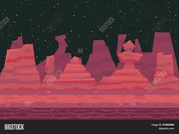 seamless night desert death canyon vector u0026 photo bigstock