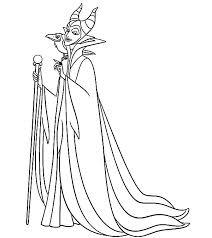 maleficent evil plan princess aurora coloring pages