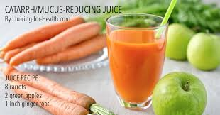 Root Vegetable Allergy - why mucus is good for you