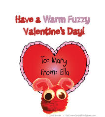s day cards for classmates warm fuzzy s day cards for your children to deliver to