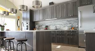 light gray stained kitchen cabinets black residence contemporary kitchen ta by t2thes design