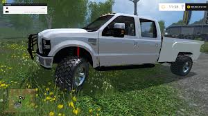 Ford F350 Truck Wheels - f350 ford diesel white wheels ls15mods com biggest portal