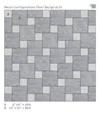 mesto configurations rubber tile