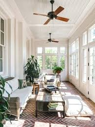sell home interior sunroom design ideas pictures exle of a large brick floor