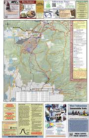 Map Of Idaho And Montana by West Yellowstone Is The Best Location Skiing And Snowmobiling