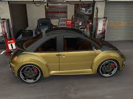gold volkswagen beetle view of volkswagen beetle photos video features and tuning of