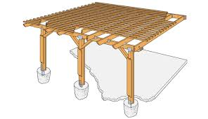 Plans For Patio Table by Simpson Strong Tie Diy Patio Cover Home Projects Diy