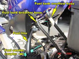 how to 98 01 r1 remove fuel tank airbox carburetors and cam