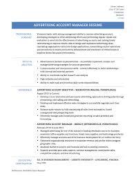 bad resumes samples advertising account manager resume sample 2017 advertising account manager resume