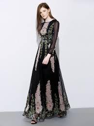novelist chiffon maxi dress long sleeve best collection