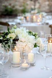 Wedding Table Centerpiece Ideas White Table Decorations For Weddings 10928