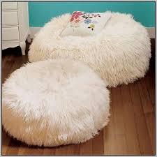 white fluffy bean bag chairs chairs home decorating ideas hash