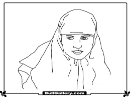 muslimah kids coloring sheet bull gallery