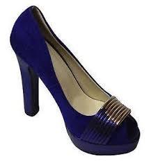 Cobalt Blue High Heels Royal Blue Shoes Ebay