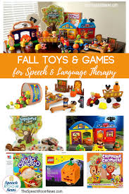 fall toys and games for speech and language therapy speech room news