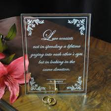 wedding quotes engraving wedding gift engraving quotes gift ftempo