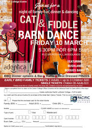 Barn Dance Names Compass No 448 March 2017 Pacific Lutheran College