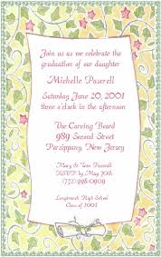 high school graduation announcement wording high school graduation party invitation wording exles style