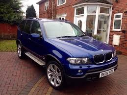 green bmw x5 bmw x5 2006 3 0d sport le mans performance blue edition fully
