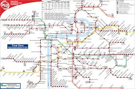 Prague Metro Map by Travel Information 3rd International Symposium Perioperative