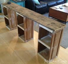 cabinet doors into children u0027s desk my love 2 create