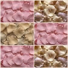 silk petals blush gold blend petals silk petals
