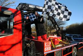 Automotive Flags Flags Fly For Fitting Farewell To Richie Cole Basingstoke Gazette
