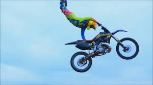 freestyle motocross ramps hitting ramp in kalix freestyle motocross youtube