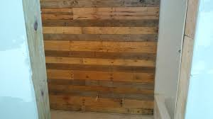 how to pallet wood accent wall youtube